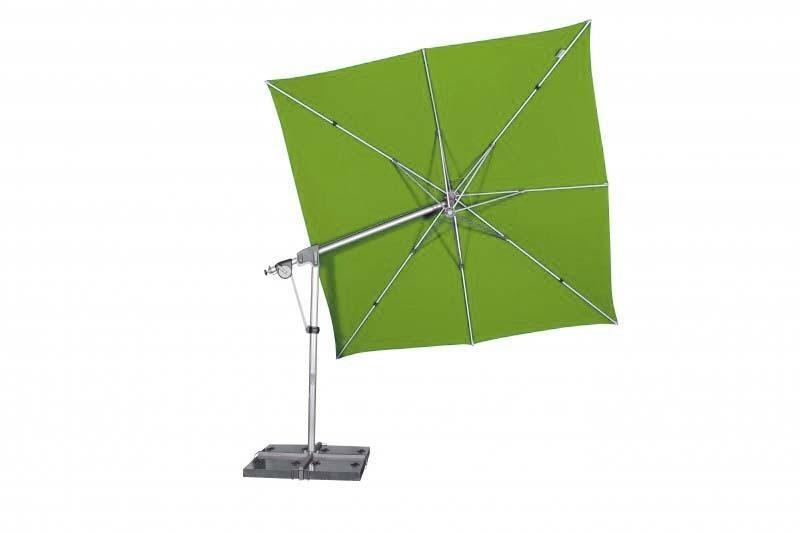 Zahradní slunečník Doppler PROTECT 3x3P 300x300 - Smaragd