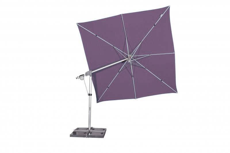 Zahradní slunečník Doppler PROTECT 3x3P 300x300 - Šeřík