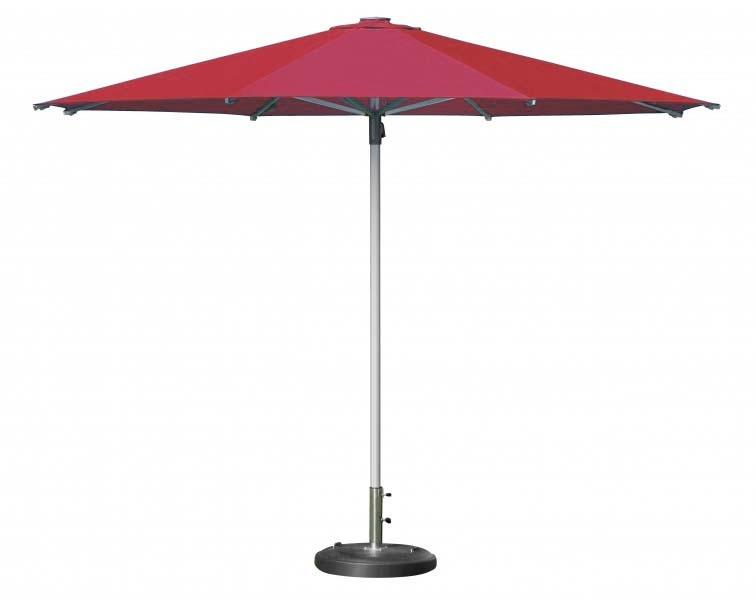 Zahradní slunečník Doppler PROTECT 340M - Červená