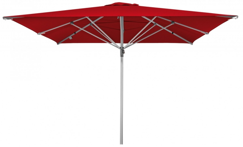 Zahradní slunečník Doppler PROTECT 300x300M - Červená