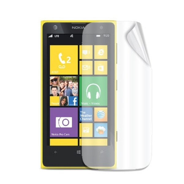 Ochranná fólie Celly Screen Protector pro Nokia Lumia 1020, 2ks, lesklá SCREEN357