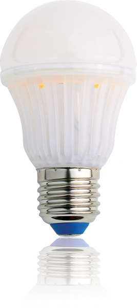LED CRYSTAL BULB, E27, 6,5W, 230V, 700lm, 2700K teplá bílá, 320°, White Label