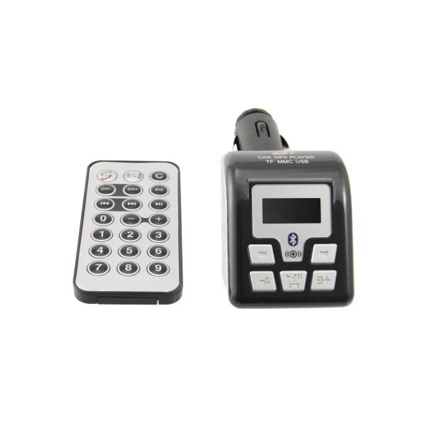 FM Transmitter Arkas CN-FMBT01, Bluetooth handsfree, černý CNFMBT01