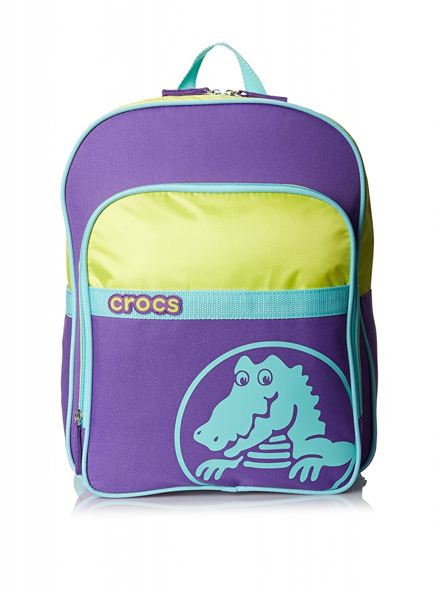 Crocs Duke Backpack - Neon Purple/Citrus