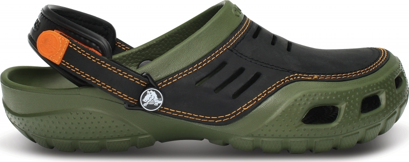 Crocs Yukon Sport - Army Green/Black, M11 (45-46)