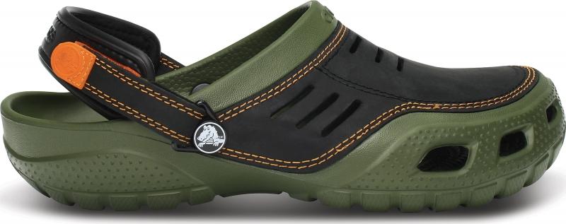 Crocs Yukon Sport - Army Green/Black, M12 (46-47)