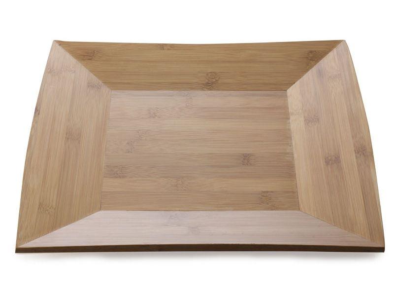 Maxwell & Williams čtvercový bambusový talíř, 30 cm