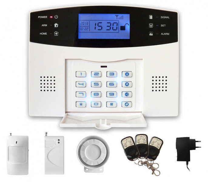 iGET SECURITY M2B - bezdrátový GSM alarm CZ, set SECURITY M2B