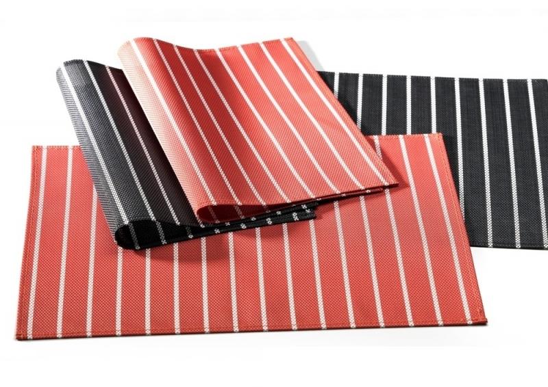 Ritzenhoff & Breker prostírání Riga, 45x30 cm, - černo-bílé