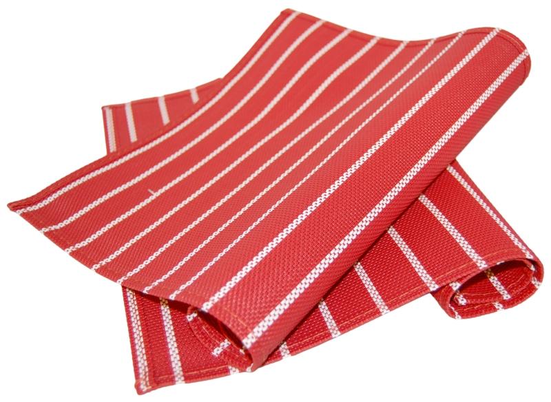 Ritzenhoff & Breker prostírání Riga, 45x30 cm, - červeno-bíle