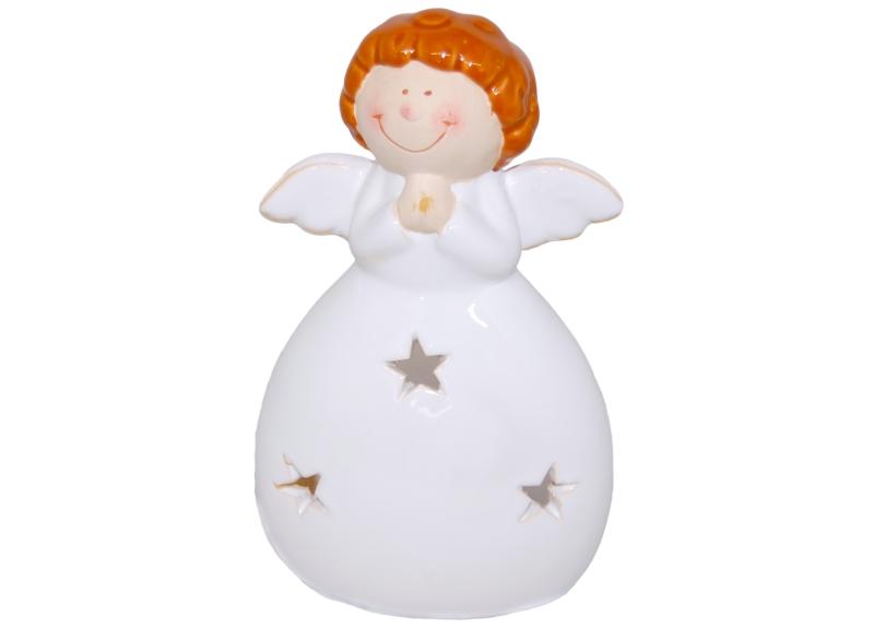 Ritzenhoff & Breker dekorativní svícen ve tvaru anděla Lucia, 17 cm