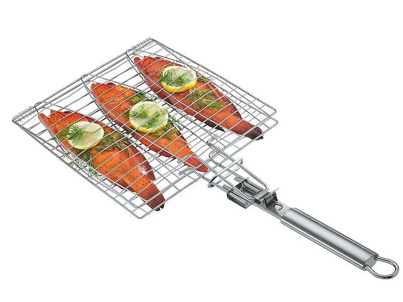 Küchenprofi grilovací kleště na 3 ryby