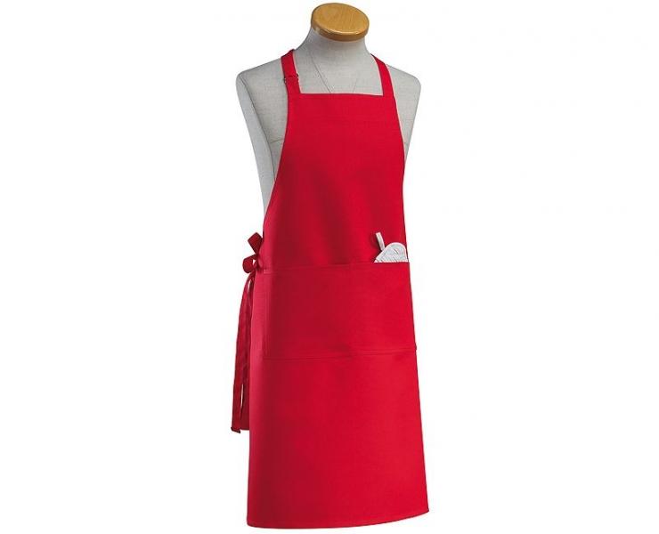 Küchenprofi kuchyňská zástěra, červená