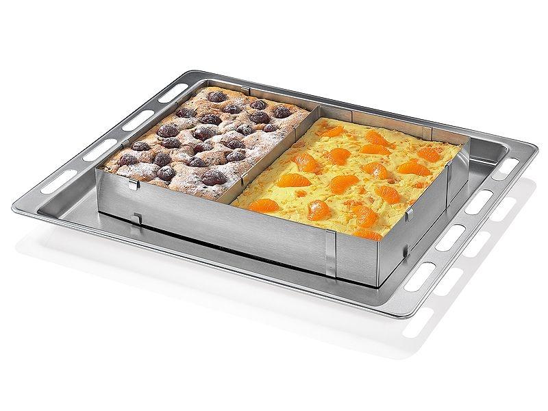 Küchenprofi nastavitelná forma na dort, hranatá