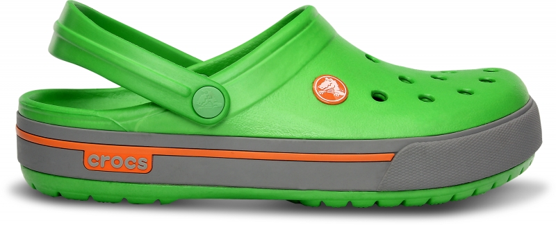 Crocs Crocband II.5 Lime/Light Grey, M11 (45-46)