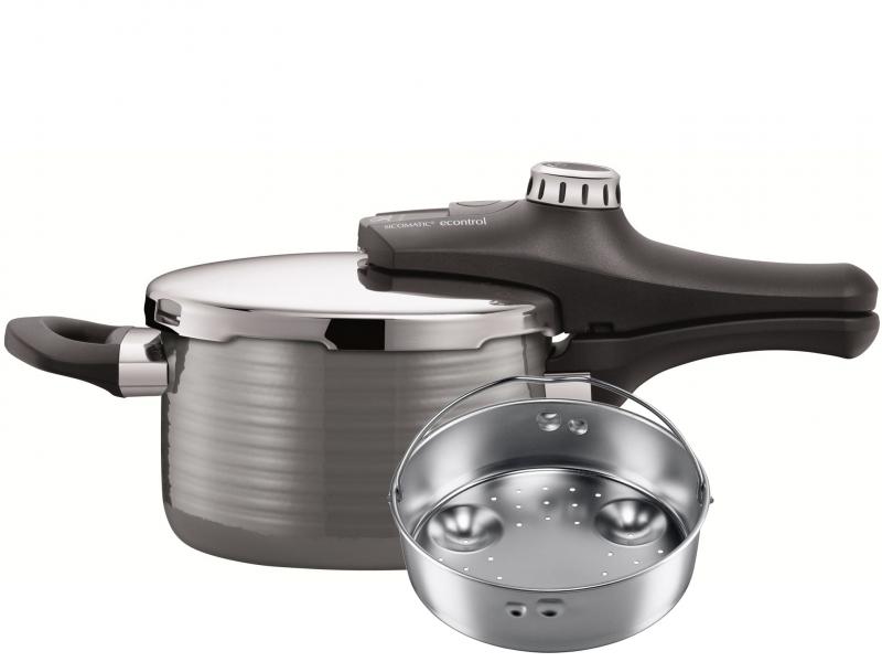 Silit tlakový hrnec s vložkou Sicomatic econtrol Vision, 4.5 l (4.5 litru)