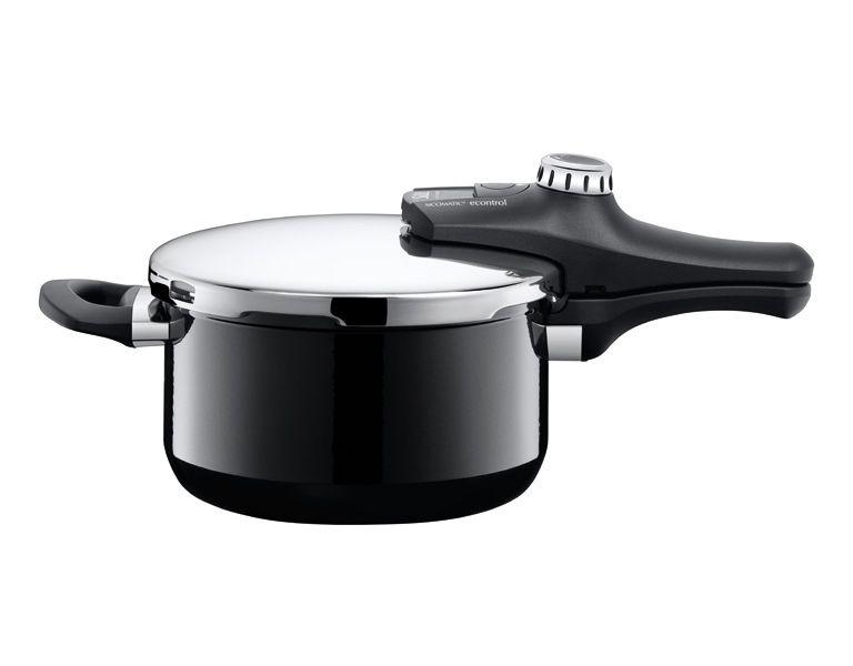 Silit tlakový hrnec Sicomatic econtrol Energy, černý, 4.5 l (4.5 litru)