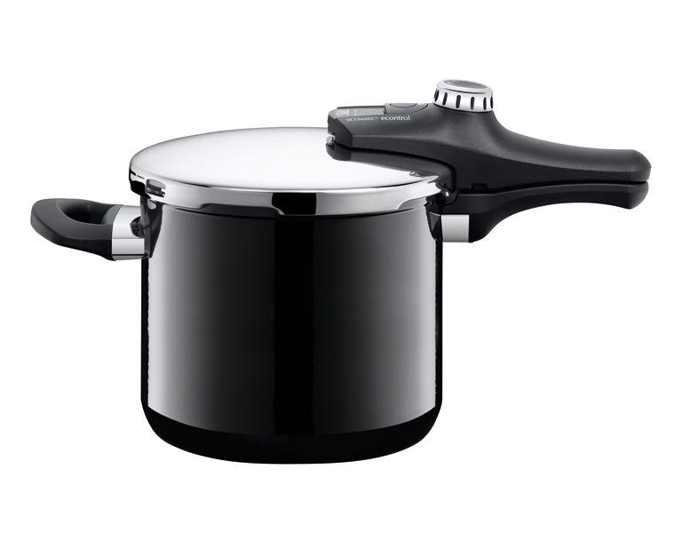 Silit tlakový hrnec Sicomatic econtrol Energy, - černý, 6.5 l (6.5 litru)