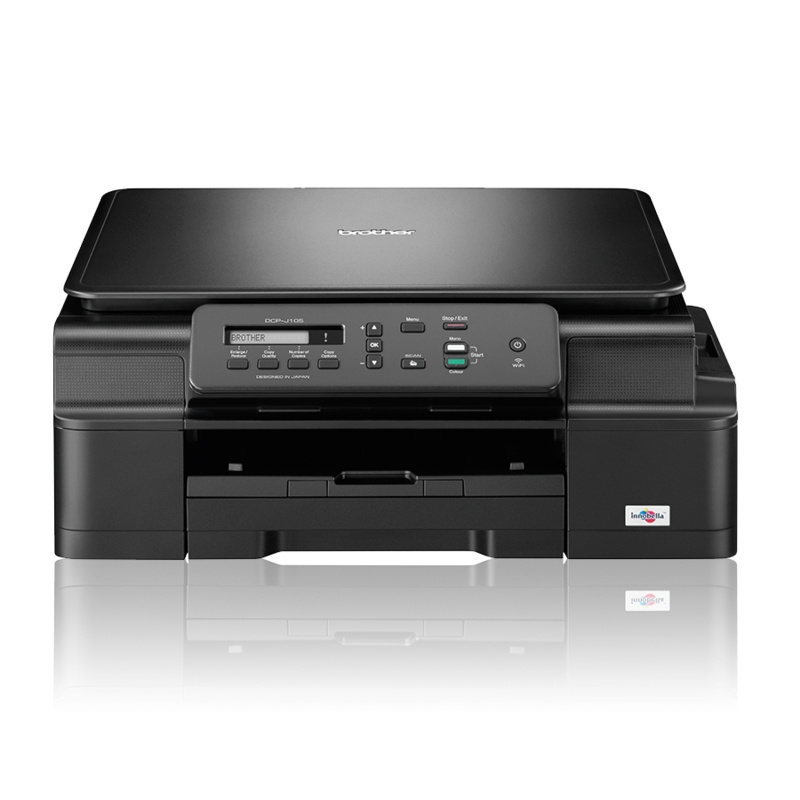 Brother DCP-J105 A4, USB,WiFi, INK Benefit DCPJ105YJ1