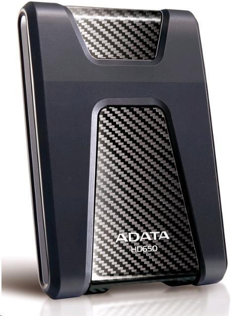 """ADATA HD650 1TB External 2.5"""" HDD Black AHD650-1TU3-CBK"""