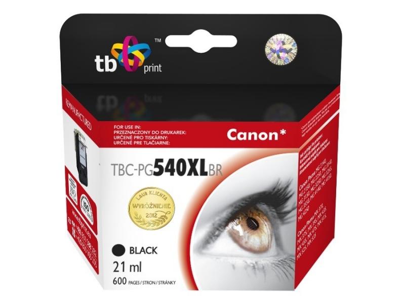 Černá inkoustová kazeta TB kompatibilní s Canon PG-540XL - Alternativní TBC-PG540XLBR