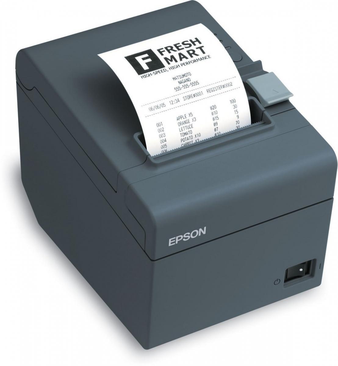 Epson TM-T20II termální tiskárna, USB + RS232, černá C31CD52002