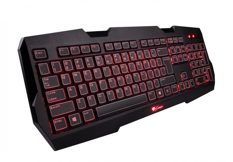 Herní klávesnice Natec Genesis RX22, US,podsvícení NKG-0554