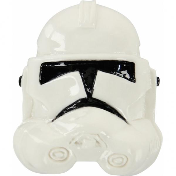 Jibbitz odznáček na obuv Crocs Storm Trooper - lesklá helma