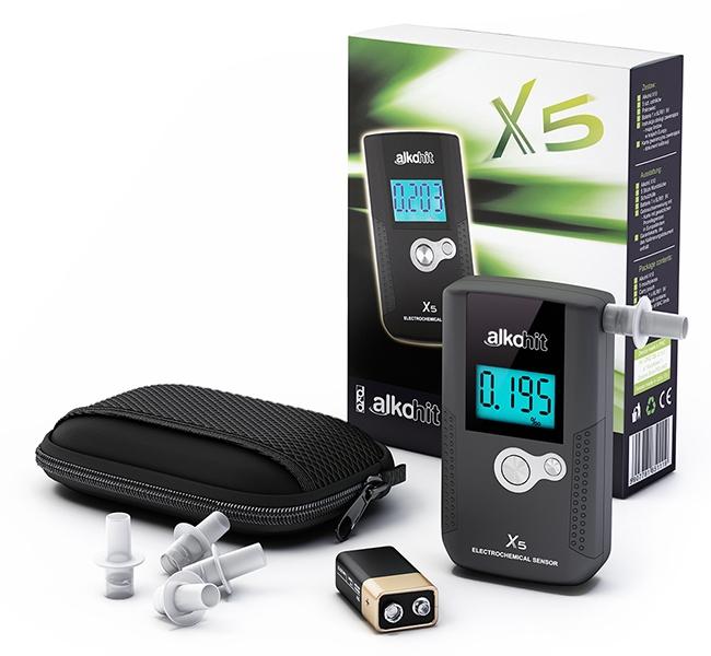 ALKOHIT X5 elektrochemický profesionální alkohol tester AlkohitX5
