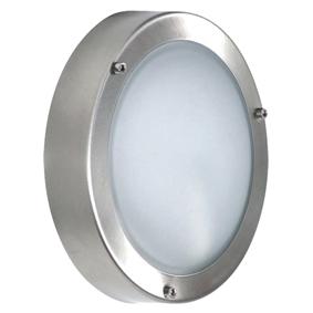 Ranex Kulaté nástěnné svítidlo z nerezové oceli