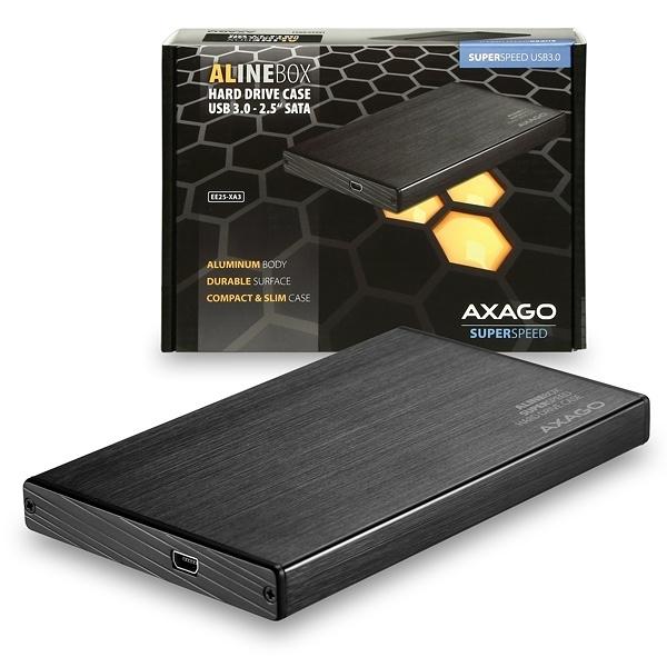 "AXAGO USB3.0 - SATA 2.5"" externí ALINE box EE25-XA3"