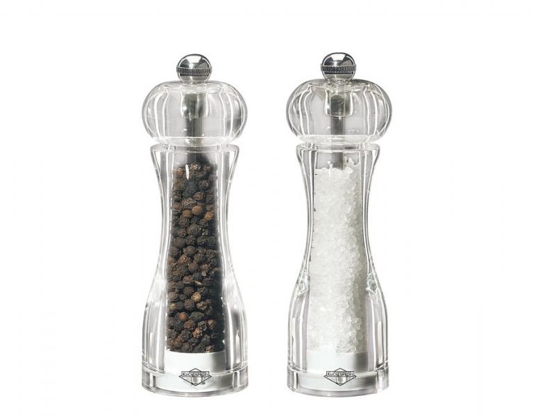 Küchenprofi set akrylových mlýnků na sůl a pepř Toronto