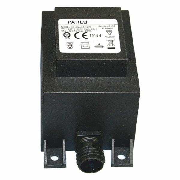 Transformátor Patilo Plug&Play, 60W/ 12V
