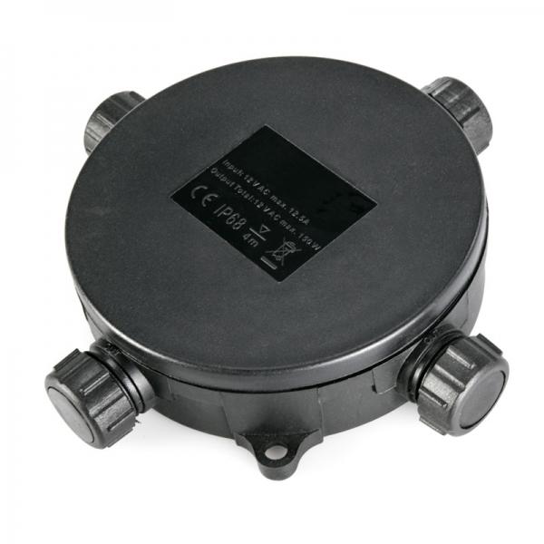 Voděodolný rozbočovací konektor IP68 Patilo pro 4 kabely