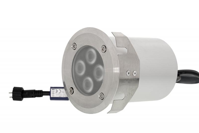 Podlahové LED svítidlo Patilo Lumilux, teplá bílá, 12V/ 8W