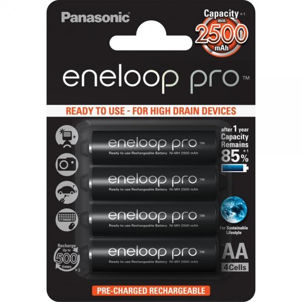 Baterie Panasonic Eneloop AA 4ks 3HCCE/4BE