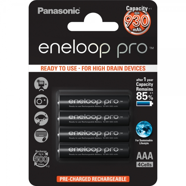 Baterie Panasonic Eneloop AAA 4ks 4HCDE/4BE