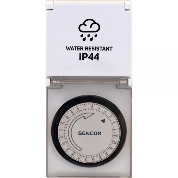 Venkovní časový spínač Sencor SST 12MDO