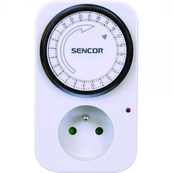 Denní časový spínač Sencor SST 10MD