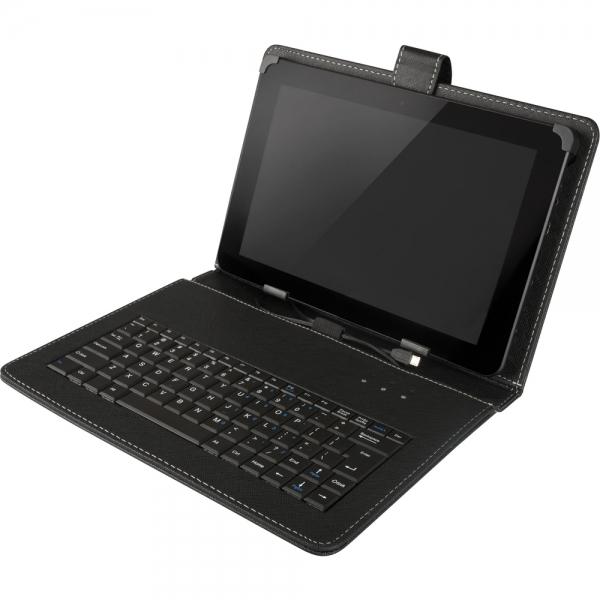 """Pouzdro Yenkee YBK 0700BK s klávesnicí pro 7"""" tablety, černé"""