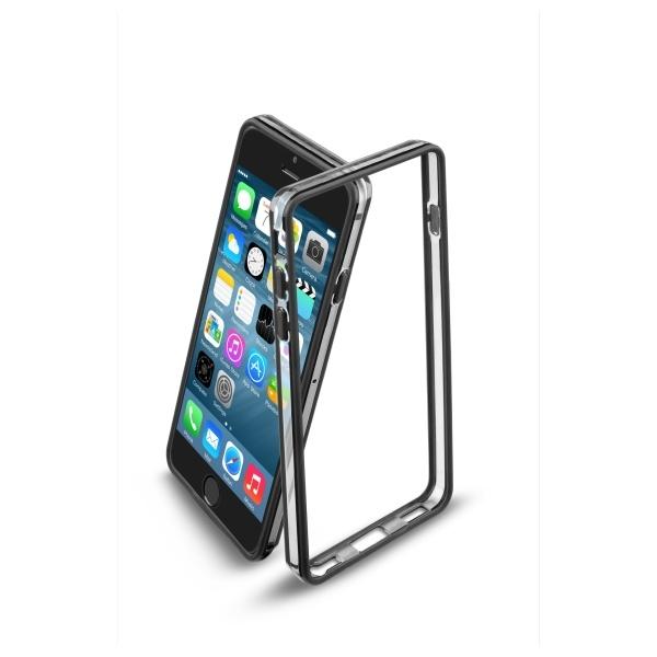 Ochraný rámeček CellularLine Bumper pro Apple iPhone 6, - černý BUMPERIPH647K