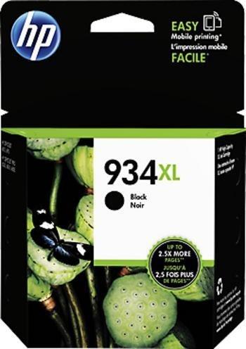 Černá inkoustová kazeta HP 934XL (HP934XL, HP-934XL, C2P23AE) - Originální C2P23AE