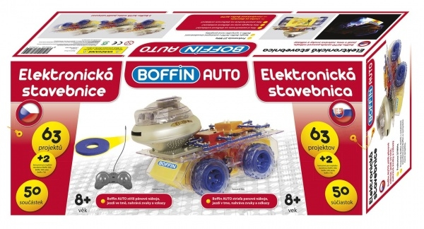 Elektronická stavebnice Boffin Auto