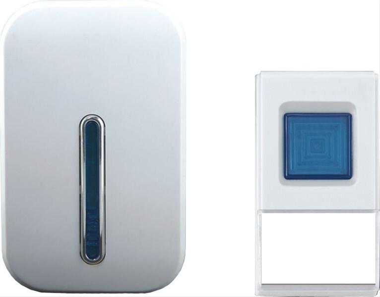 Solight bezdrátový zvonek, do zásuvky, 100m - White