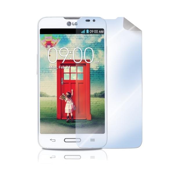 Prémiová ochranná fólie Celly pro LG L70, lesklá, 2ks SBF395