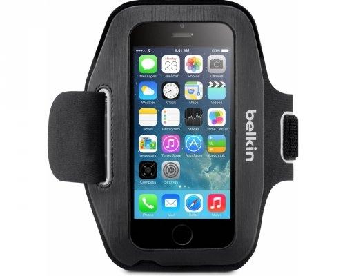 Sportovní pouzdro Belkin SPORT-FIT Armband pro Apple iPhone 6, černé F8W500btC00