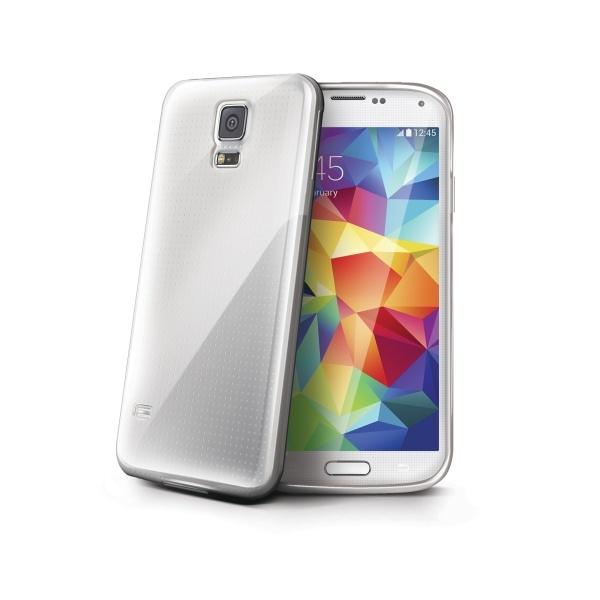 Silikonový obal Celly Gelskin pro Samsung Galaxy S5 Mini, - čirý GELSKIN422