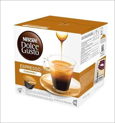 KARTON Kapsle NDG Espresso Caramel 3 ks
