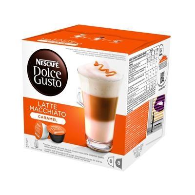 KARTON Kapsle NDG Latte Machiato Caramel 3 ks