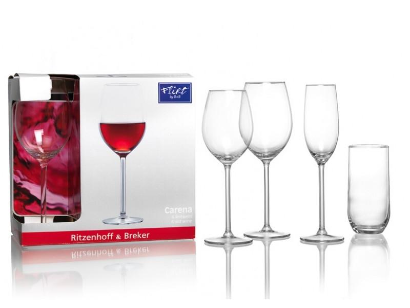 Ritzenhoff & Breker sklenice na červené víno CARENA, 530ml, 6ks